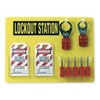 Brady 51181 Lockout Station, Filled, 19 Components