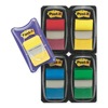 3M 680-RYBGVA Sticky Flags, 1 x 1-1/2 In., Assorted