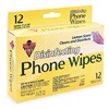 Falcon DCPW Phone Wipes, Sachet, 5Hx1 3/4W In, PK12