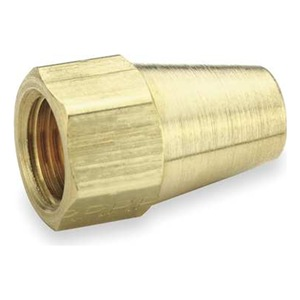 Parker Long Nut, Flare, Brass, 3/16 In Tube, PK 10 at Sears.com