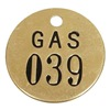 Approved Vendor 2YB47 Nbr Tag, 1-1/2 x 1-1/2 In, 26-50, PK25