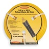 Legacy HEPU14100YW2 Air Hose, 1/4 IDx0.419 ODx100 Ft, Yellow
