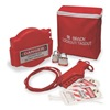 Brady 102693 Portable Lockout Kit, Filled, 7 Components