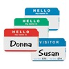 C-Line Products 92245 Blue Visitor Badge, PK100