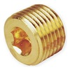 Parker 4 PHH-B Hollow Hex Plug, Pipe Size 1/4 In