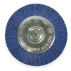 Vortec 36432 Wheel Brush, 3 In Dia, Nylon (Medium/Fine)
