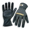 Ironclad HW6X-03-M Heat Resist Gloves, Black, M, Kevlar, PR