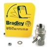 Bradley S45-122 Plastic Handle With Ball Valve
