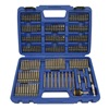 Westward 1VXP2 Screwdriver Bit Set, 1/4 Hex Dr, 175 Pc