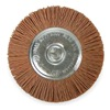 Vortec 36434 Wheel Brush, 4 In Dia, Nylon (Coarse)