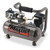 Air Compressor, 0.5 HP, 125 PSI Max, 1.0 G