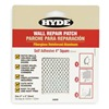 Hyde 09903 Wall Patch, 4 x 4 In, Aluminum/Fiberglass