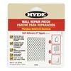 Hyde 09903 Wall Patch, 4 x 4 In, Aluminum/Fiberglass