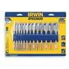 Irwin Speedbor 88887 Spade Bit Set, 1/4 to 1 D, 6 In L, 13 Pc