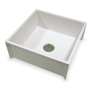 Mop Sink Gasket : Mustee 63M Mop Sink, White, Durastone(R) Material Be the first to ...