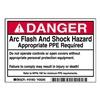 Brady 101953 Arc Flash Protection Label, PK 5