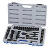 Westward 1KEH4 Socket Set, 1/4 And 3/8 In Drive, 64 PC
