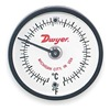 Dwyer Instruments ST500 Bimetal Thermom, 2 In Dial, 0 to 500F