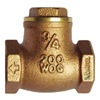Hammond Valve 967 1 1/2 Swing Check Valve, 1-1/2 In, FNPT, Brass