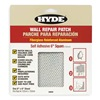 Hyde 09899 Wall Patch, 6 x 6 In, Alum/Fiberglass, PK10