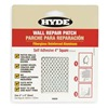 Hyde 09898 Wall Patch, 4 x 4 In, Alum/Fiberglass, PK10