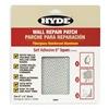 Hyde 09904 Wall Patch, 6 x 6 In, Aluminum/Fiberglass
