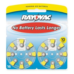 Rayovac L10ZA-16LA