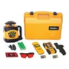 Johnson 40-6522 Laser Level, Auto-Level, 4 Modes, Red