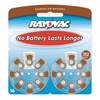 Rayovac L312ZA-16LA Hearing Aid Battery, Size 312, Brown, PK16