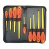Westward 1YXN6 Insulated Combo Screwdriver Set, 9 Pc