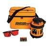 Johnson 40-6515 Rotary Laser Level, Self-Leveling, Red