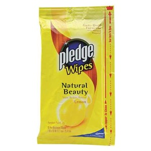 Pledge Pledge Lemon Wipes