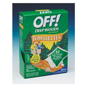 Off Deep Woods OFF! Wipes