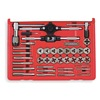Vermont American 21749 Tap and Die Set, Carbon, Metric, 40 Pcs