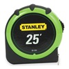 Stanley 30-305 Measuring Tape, 25 Ft, 1 In W, Top Lock