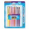 Paper Mate 70644 Felt Tip Pen, Stick, Medium, Various, PK 16