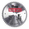 Morse CSM948NSC Circular Saw Bld, Crbde, 9 In, 48 Teeth