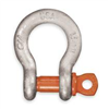 Cm MC648G Screw Pin Anchor Shackle, 3/8In, 1 Ton