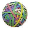 Approved Vendor 2WFX9 Rubber Band Ball, #30, 3-3/16x1/8in, Asst