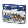 Dremel EZ688-01 EZ Lock Cut Off Wheel Kit, 11 Pc