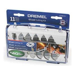 Dremel EZ688-01 EZ Lock Cut Off Wheel Kit, 11 Pc Be the first to write ...