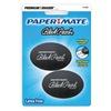Paper Mate 1742567 Eraser, Black, PK2