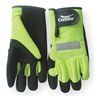 Condor 2XRR6 Glove, Mechanics, Hi Vis, Hook/Loop, 2XL, Pr