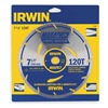Irwin Marathon 11830 Crclr Saw Bld, Crbde, 7-1/4 In, 120 Teeth
