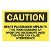 Brady 25254 Caution Radiation Sign, 7 x 10In, BK/YEL