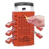 Master Lock 503RED Group Lockout Box, 14 Locks Max, Red