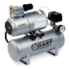 Gast 1LAA-25IT-M100X Electric Air Compressor, 1/6 HP, 50 PSI