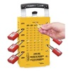 Master Lock 503YLW Group Lockout Box, 14 Locks Max, Yellow