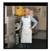 Ansell 950131 Disposable Apron, White, Universal, PK 100