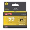 Arrow 591168BL Insulated Staple, 1/4x1/4, PK 300